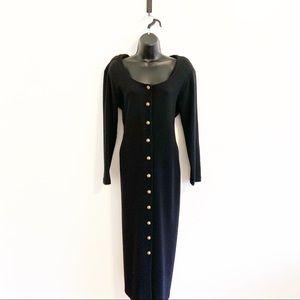 Vintage CDC Ribbed Long Sleeve Dress SZ Lg